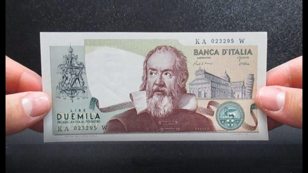 If you find two thousand pounds with Galileo Galilei, you will be rich: that is what they deserve today