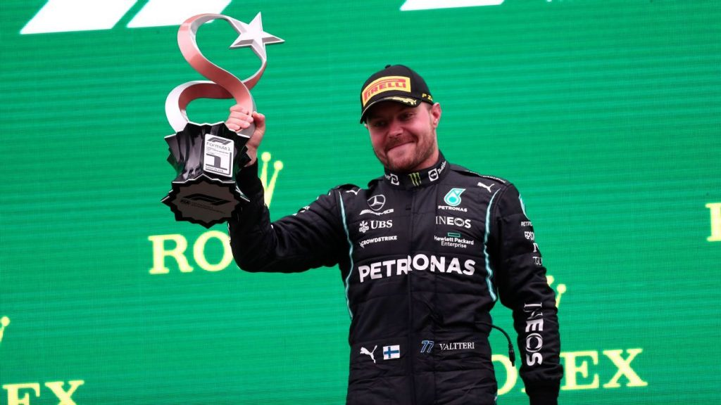 Bottas won in Turkey, Verstappen regained the lead and 'Checo' on the podium