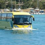 Amphibious trainer to solve traffic problems