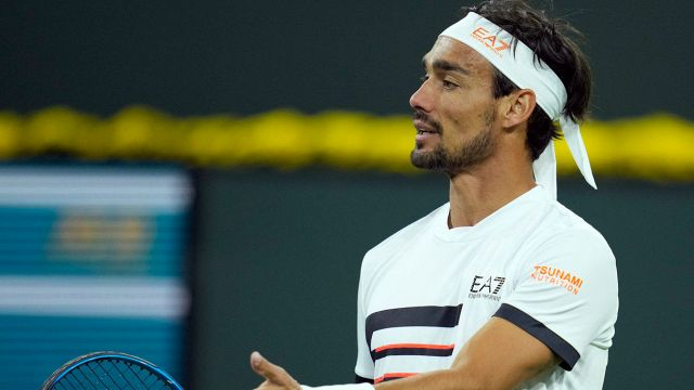 Indian Wells and Fognini surrender to Tsitsipas: race is tainted by controversy