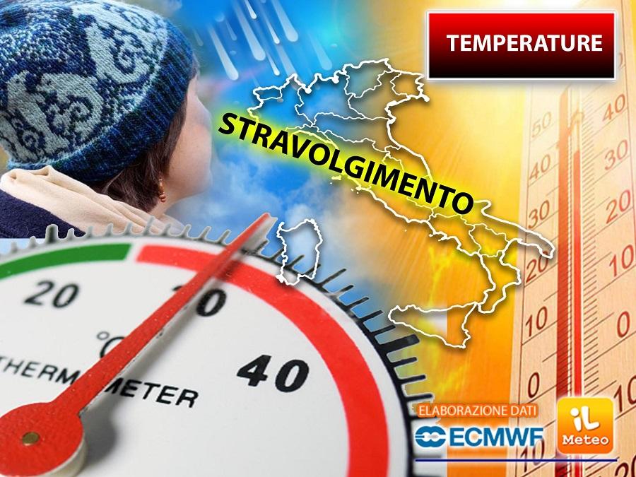 Temperatures in turmoil soon!  Sudden peaks are expected, details »ILMETEO.it