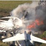 Texas, plane crash: All passengers are fine