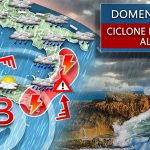 The Mediterranean hurricane is heading towards Catania, with a strong wave of bad weather coming