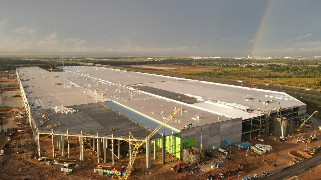 The new factory is huge