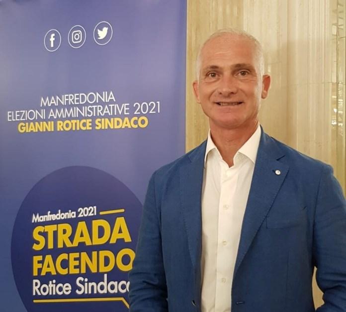 Engineer Gianni Rutis, Mayor of Manfredonia