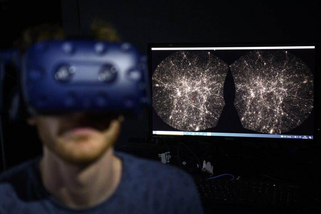 """Unveiled the virtual reality universe project, """"Google Earth"""" of the universe"""