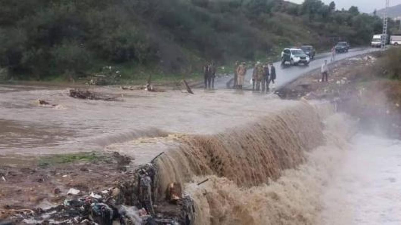 weather forecast.  Bad weather, floods and severe damage between Spain and North Africa
